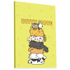 "Блокнот TM Profiplan ""Kitty note"" yellow, А5"